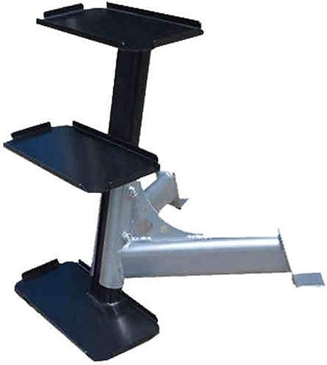 Squat Rack Gimnasio en casa Kettlebell Soporte de múltiples Capas de Pesas Rusas Soporte Comercial Equipo 6 Pack (Color : Black, Size : 55 * 40 * 70cm): Amazon.es: Hogar