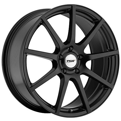 TSW Interlagos Matte Black Wheel (18x9