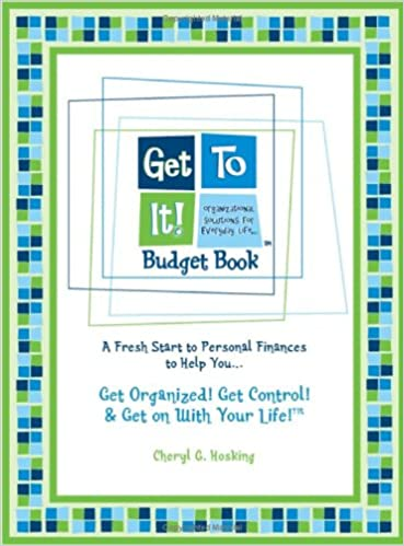 get to it budget book a fresh start to personal finances to help