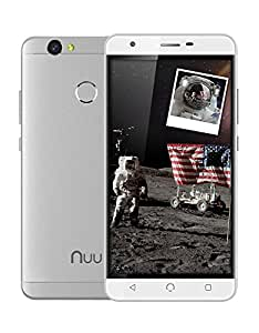 NUU Mobile X5 - Dual SIM Unlocked GSM Phone 3G RAM - 32GB Storage Fingerprint Sensor