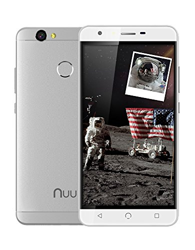 NUU Mobile X5 – Dual SIM Unlocked GSM Phone | 4G | 32GB Storage | Fingerprint Sensor