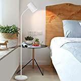 Floor lamp Nordic Iron Lamp Living Room Coffee Table Lamp Bedside Simple, White
