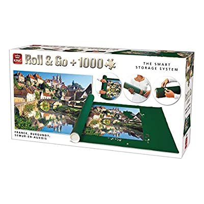 King 5340 Roll Go Puzzle Storage Incluso 1000 Piece Puzzle Opaco 500 A 1500 Pezzi