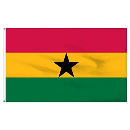 3x5 Ghana Flag 3/'x5/' Africa House Banner Grommets Polyester Fade Resistant