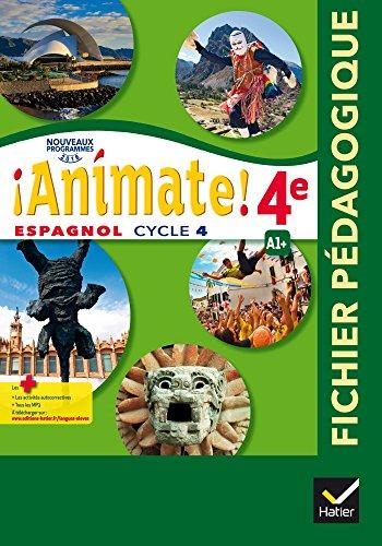 Animate Espagnol 2e Annee Lv2 Ed 2017 Livre Du