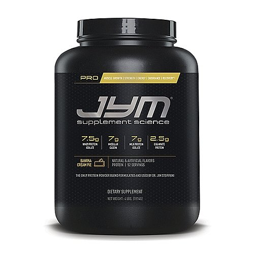 JYM Supplement Science Pro JYM, Banana Cream Pie, 4 Pound