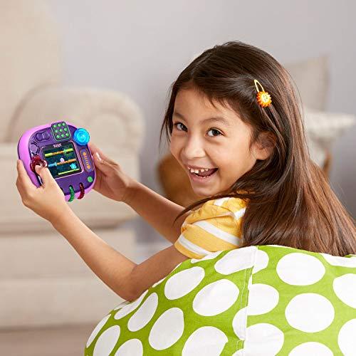 51015RyAr2L - LeapFrog RockIt Twist Handheld Learning Game System, Purple