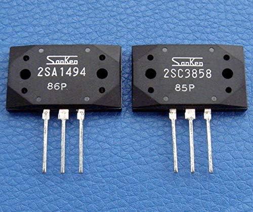 1 Pair from US 2SA1494 2SC3858 Sanken Transistor