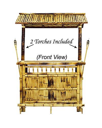 (RAM Gameroom Products 60-Inch Bamboo Tiki)