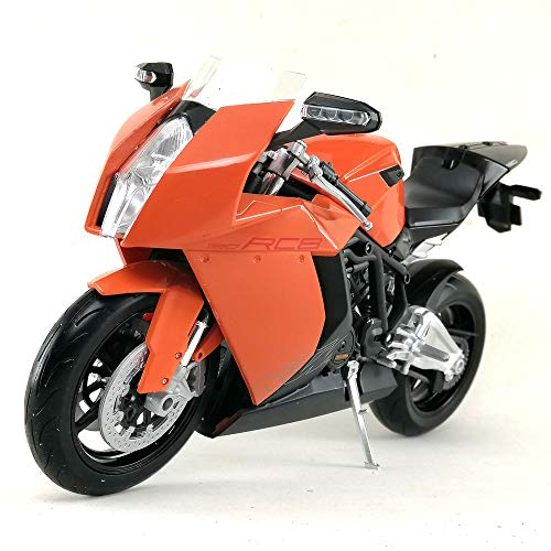 Welly Motorcycle Die-cast Model KTM 1190 RC8 1:10 Scale Toy Hobby Collection Collectible New in Window Box