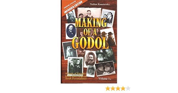 Making of a godol a study of episodes in the lives of great torah making of a godol a study of episodes in the lives of great torah personalities improved edition 2 volume set nathan kamenetsky 9789659037926 fandeluxe Image collections