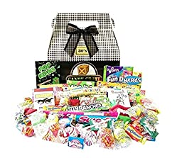 Candy Crate 1980\'s Classic Retro Candy Gift Box