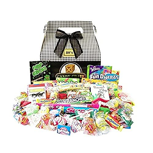 Unique gift baskets amazon candy crate 1980s classic retro candy gift box solutioingenieria Image collections