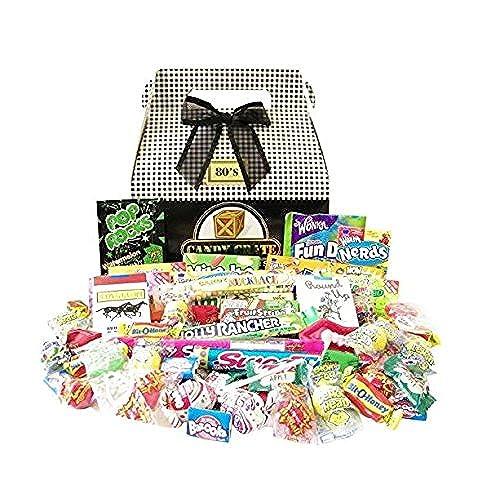 Unique gift baskets amazon candy crate 1980s classic retro candy gift box solutioingenieria Gallery