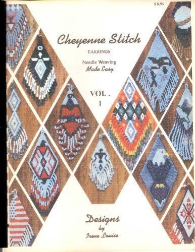 Cheyenne Stitch Earrings Needle Weaving Made Easy Vol. 1