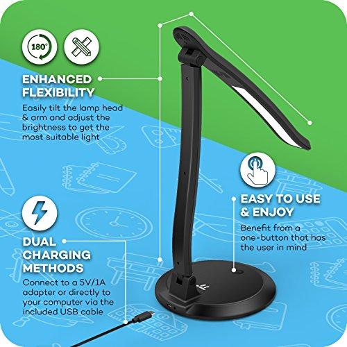 Eye Care Desk Lamp Taotronics Glare Free Led Desk Lamp
