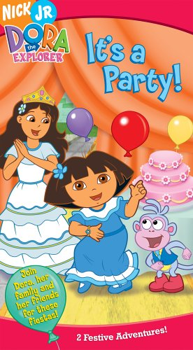 Its Dora - Dora the Explorer:It's a Party [VHS]