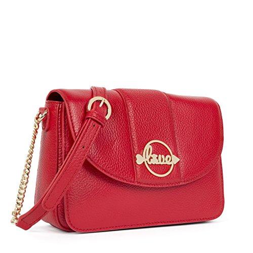 TOUS Kaos Shock, Besaces femme, Rojo (Red), 5x13x21 cm (W x H L)