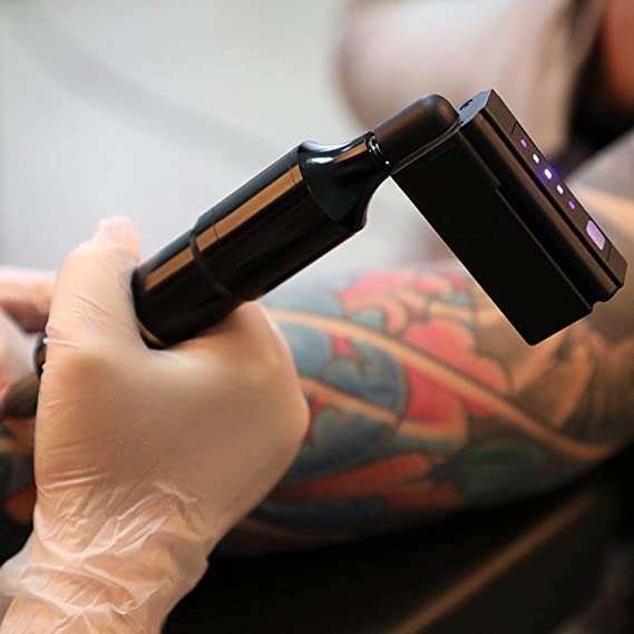 ZWEN Profesional del Tatuaje Híbrido Cartuchos Máquina Rotatoria ...