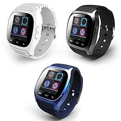 Soyan New M26 Bluetooth Smart Wrist Watch Phone Suitable for Android Phones(Full functions),For Iphone(Partial functions)