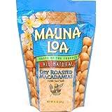 Mauna Loa Dry Roasted With Sea Salt Macadamia Nuts, 11-Ounce Package (Pack of 12) by The Hershey Company
