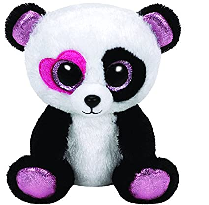 81cc93654d9 Image Unavailable. Image not available for. Color  Ty Beanie Boos Mandy -  Panda Regular