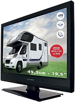 Telefunken TV Camping Car 49,5 cm – Decodificador Satellite Integrado – Compatible Fransat: Amazon.es: Electrónica