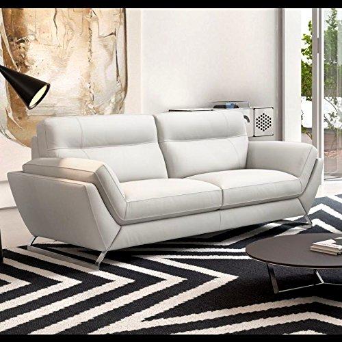 Leder Sofa Couch Polstergarnitur Couchgarnitur 2 Sitzer Elegant
