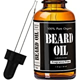 Leven Rose Fragrance Free Beard Oil and Leave-In Conditioner, 1 fl. oz.