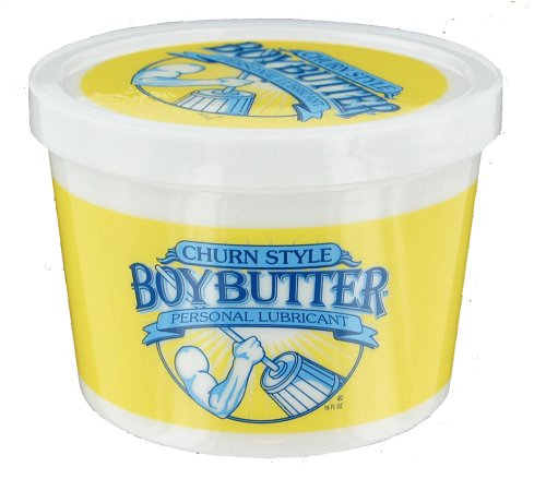 Boy Butter Personal Lubricant 16-Ounce Tubs (Pack of 2) by Boy Butter