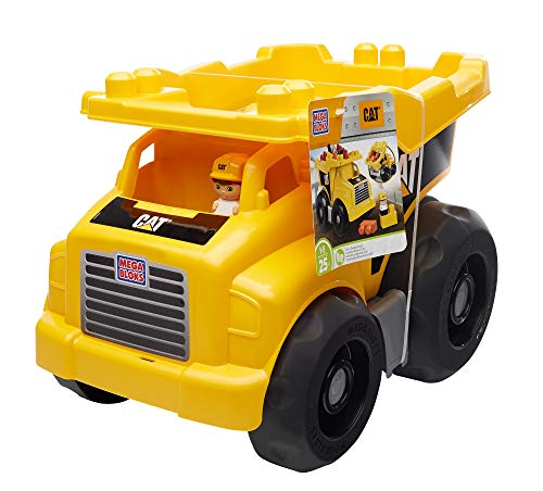51019BouD1L - Mega Bloks Caterpillar Large Dump Truck