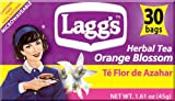 Lagg's Tea Orange Blossom Tea, 30-Count Tea Bags (Pack of 6)