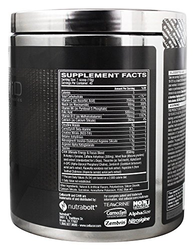 Cellucor C4 Ultimate Icy Blue Razz 40 Servings