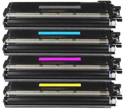 4x Eurotone Toner Tn230 Set Für Brother Hl 3040 3070 Mfc 9120 9320 Cn Dcp 9010 Premium Alternative Ersetzt Tn 230 Black Cyan Magenta Yellow Bürobedarf Schreibwaren