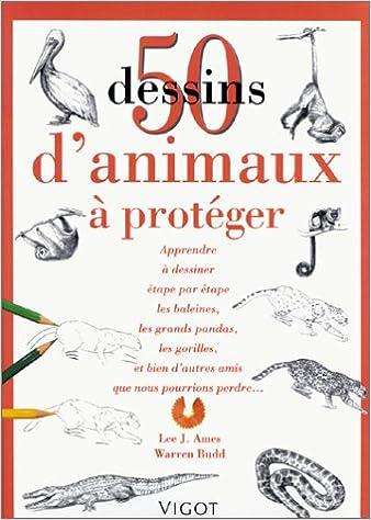 Lire 50 dessins d'animaux à protéger pdf, epub ebook