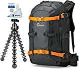 Lowepro Whistler BP 350 AW Photo Backpack w/ Joby GorillaPod Focus Flexible Camera Tripod with Ballhead Kit