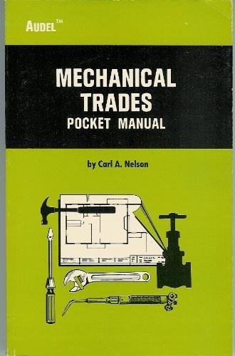 Mechanical Trades Pocket Manual,