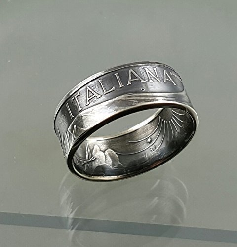 Italian Silver Coin turned into an amazing Ring!