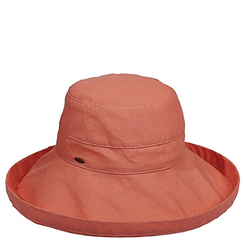 scala-hats-cotton-big-brim-w-drawstring-one-size-grapefruit