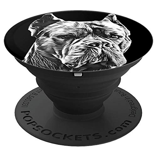 Giants Italian - Cane Corso Italian Mastiff Giant Guard Dog Pet Portrait - PopSockets Grip and Stand for Phones and Tablets