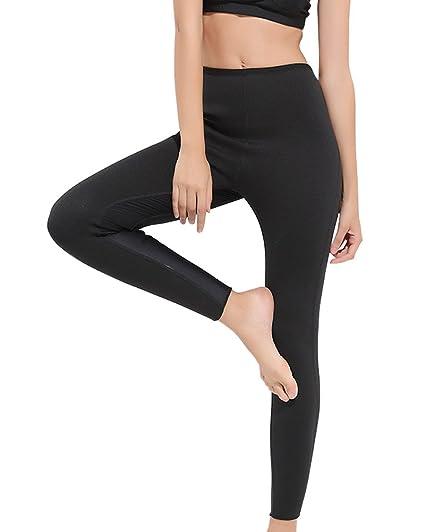 fbb81c091a830 Nideen Womens Slimming Sweat Ankle Long Pants Sauna Hot Thermo Burn Fat  Yoga Legging Body Shaper