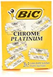 BIC Chrome Platinum Double Edge (DE) Razorblade