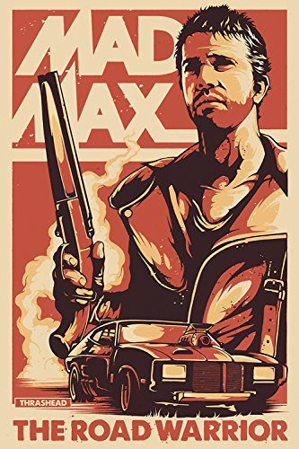 Mad Max Road Warrior Movie Fan Art Poster 24x36