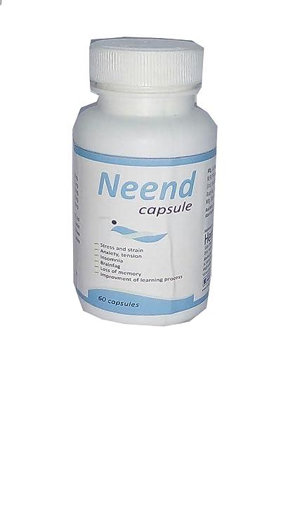 Buy Sri Herbasia Biotech Neend Capsule Herbal Medicine (60 Capsules