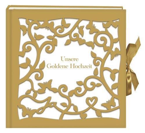 Großes Fotoalbumgästebuch Unsere Goldene Hochzeit Amazon