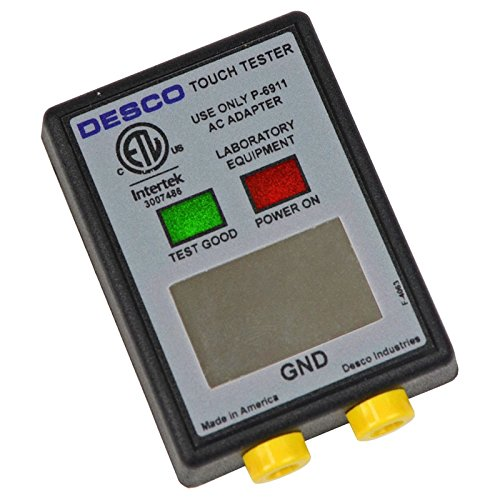 DESCO Brand 19350 Wrist Strap Tester, NIST Calibrated by Desco Brand