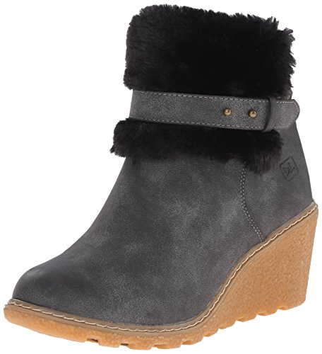 Smutstvätt Chinese Laundry Womens Höglandet Wedge Boot Svart