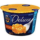 Kraft Macaroni & Cheese Deluxe Original Cheddar Single Serve Cup, 2.39 Ounce (Pack of 10)