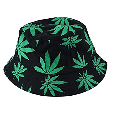 5881196c0c3 Cupcinu Unisex Adult Sun Hat Bucket Hat Summer Wide Brim Foldable Fisherman Beach  Hat Cap Maple Leaves Pattern  Amazon.co.uk  Clothing