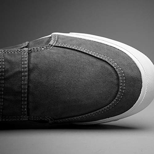 selvatici estate scarpe Scarpe casual tela Color scarpe da uomo tendenza di WangKuanHome uomo da scarpe di Size tela Blue Blue bordo traspirante 38 If0w6vdq